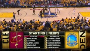2016 NBA Finals Ball Screen Sets